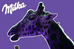 Milka-Giraffe