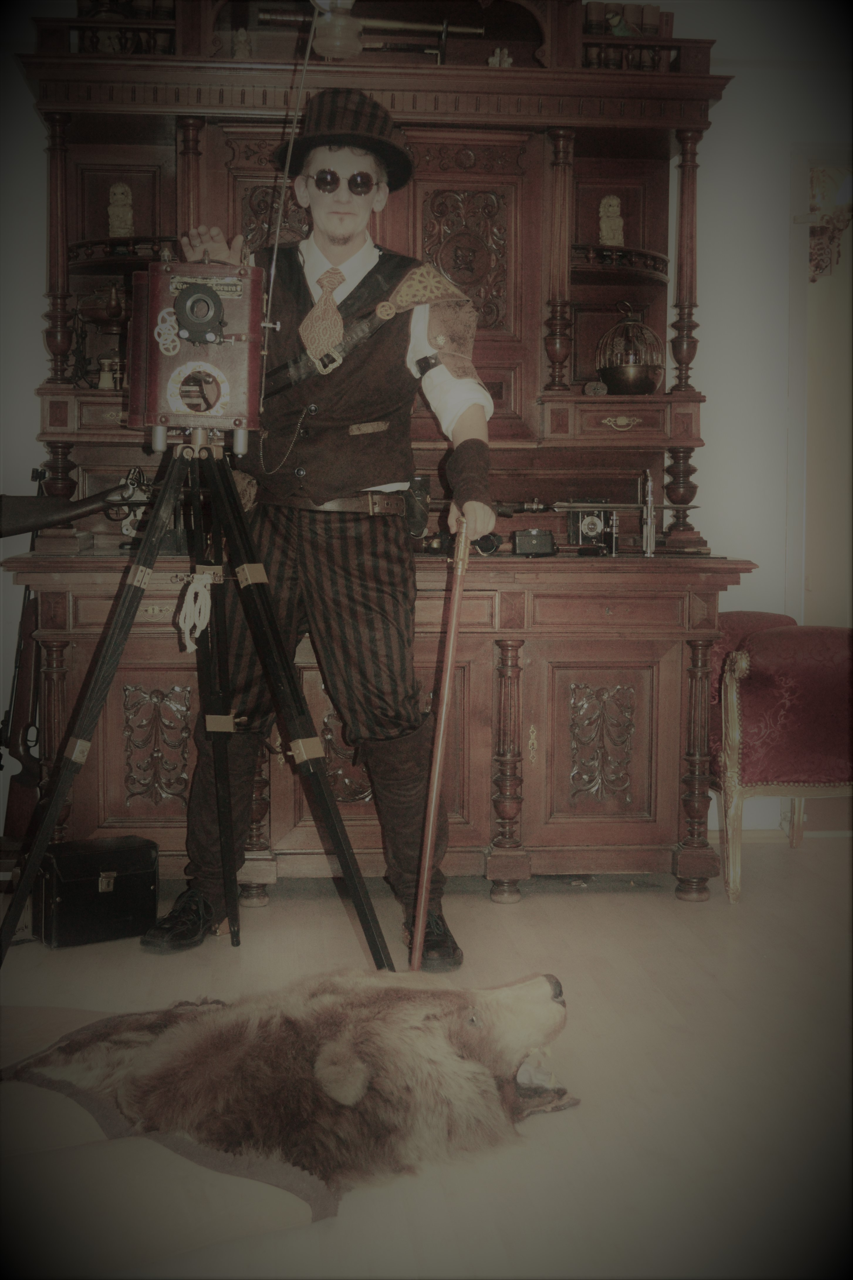Steampunk Photographer